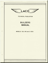 Laven LACO Aircraft Models 125, 145 and O-300 Builders  Manual