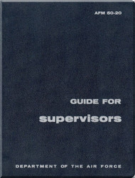 Aircraft  Guide For Supervisors Manual  - . AFM 50-20