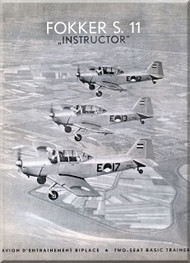 Fokker S-11  Aircraft  technical brochure  Manual -