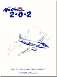 Glenn Martin 202 Aircraft Technical Brochure  Manual -