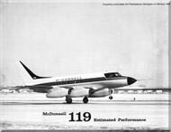 Mc Donnell Douglas 119 Aircraft Estimated Perfomance    Manual -