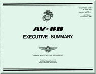 Mc Donnell Douglas AV-8 B  Aircraft Executive Summary Technical Report  Manual -