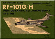 Mc Donnell Douglas RF-101 G /H   Aircraft Photographic  Reconnaissance System Manual   - 1968