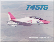 Mc Donnell Douglas T-45TS Aircraft Technical Brochure Manual -