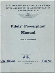Pilot's Powerplant Manual  - 1940