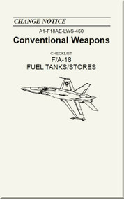 Mc Donnell Douglas F / A 18  Aircraft  - Conventional Weapons - Fuel Tanks / Stores  - A1-F18AE-LWS-460