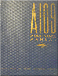 Beagle A.109 Airedale Aircraft  Maintenance   Manual -  ( English Language )