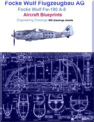 Focke Wulf Fw-190 A-8 Aircraft Blueprints -Download