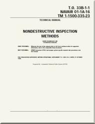 Technical Manual - Nondestructive Inspection Methods   -    NAVAIR 01-1A-16 - T.O. 33B-1-1 TM 1-1500-335-23