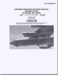 Boeing B-52 H Aircrew Weapon Delivery Manual ( NonNuclear ) - B-52 / AGM-158 JASSM  T.O. 1B-52H-34-2-8