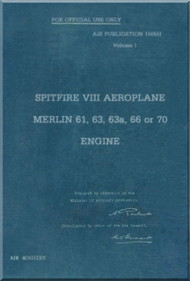 Supermarine Spitfire  Aircraft General and Technical  Manual -  ( English Language )  Air Publication 1565H   Volume I - 1943