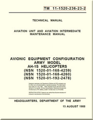 Bell Helicopter AH-1 S  Aviation Unit and Intermediate Maintenance  Manual  - Avionic Equipment Configuration TM 11-1520-236-23-2