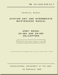 Bell Helicopter OH-58 A /C  Aviation Unit and Intermediate  Maintenance  Manual -   TM 55-1520-228-23-1