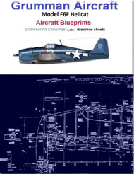 Grumman Aircraft F6F Hellcat  Blueprints Engineering Drawings DVDs or Download