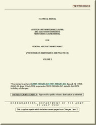 Boeing Helicopter CH-47 - Technical Manual - Aviation Unit Maintenance ( AVUM )  and Aviation Intermediate Maintenance ( AVIM) Manual for General Aircraft Maintenance  Volume 2  -  1-1500-204-23-2