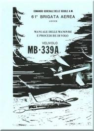Aermacchi MB-339 Aircraft Flight maneuver and procedures   - Manovre e procedure di volo   -   ( Italian  Language )