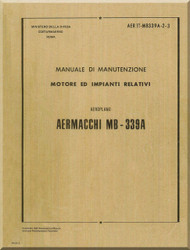 Aermacchi MB-339 A Aircraft Maintenance  Manual - Engine and Relative Systems  ( Italian   Language ) -AER IT-MB339A-2-3