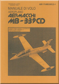 Aermacchi MB.339 CD Aircraft Flight  Manual  ( English  Language ) - AER 1T-MB339C(2)-1
