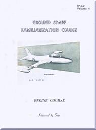 Aermacchi M-326  Aircraft  Ground Staff Familiarization Course  Engine Manual -  ( English Language )