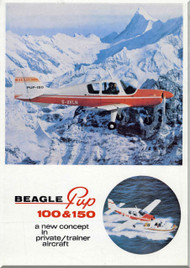Beagle PUP 100 and 150  Aircraft Technical Brochure   Manual -