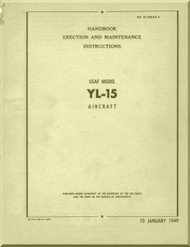 Boeing  YL-15 * Scout *  Aircraft  Handbook Erection and Maintenance  Manual  -  AN 01-20LAA-2 -1949