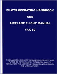 # Yakolvev Yak-50 Aircraft Pilots Operating Handbook and Airplane Flight  Manual   (English  Language )