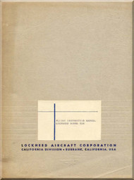 Lockheed L-12 A Aircraft Flight Instruction  Manual
