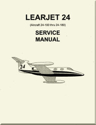Learjet 24 Series Aircraft Service Manual