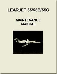 Learjet 55 / 55B / 55C Series Aircraft Maintenance Manual