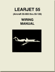 Learjet 55  Series Aircraft Wiring   Manual