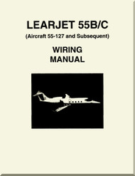 Learjet 55  B / C Series Aircraft Wiring   Manual