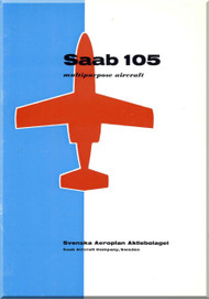 SAAB 105  Aircraft Technical Brochure  Manual -