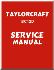 Taylorcraft   BC12D  Aircraft Service  Manual ,