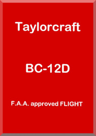 Taylorcraft   BC12 D  Aircraft Flight  Manual ,