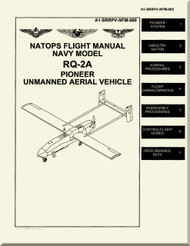 AAI Corp  RQ-2A Pioneer UAV  Aircraft Flight   Manual - A1-SRRPV-NFM-000