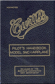 Curtiss SNC-1  Aircraft Pilot's Handbook Manual -