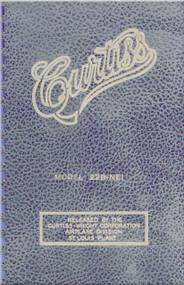 Curtiss 22B-NEI Aircraft Pilot's Handbook Manual -
