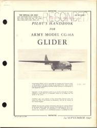 Laster Kauffman  CG-10 A Aircraft Pilot's Handbook Manual