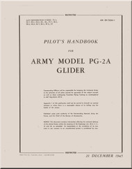 WACO  Model PG-2A Aircraft Pilot's Handbook  Manual