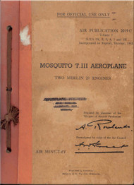 De Havilland Mosquito RAF Servicing and Descriptive Handbook (Volume One) for the Mosquito T.III, AP2019C Volume 1 , 1942