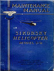 Sikorsky S-51 Helicopter  Maintenance  Manual Publication No. SA-4045-I