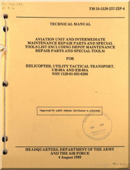 Sikorsky UH-60A EH-60A  Helicopter Aviation Unit  Intermediate Maintenance Repair Parts and Special Tool List  Manual TM 55-1520-237-23P-4