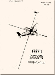 Mc Donnell   Helicopters  XHRH-1 Compound   Technical Manual Report No. 2738 , 1952