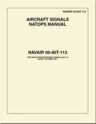 NATOPS U.S.  NAVY  Aircraft Signals NATOPS Manual  -  NAVAIR 00-80T-113
