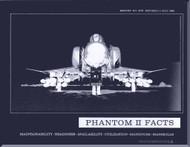 Mc Donnell Douglas F-4  Aircraft  Phantom Mk II Facts   Manual -