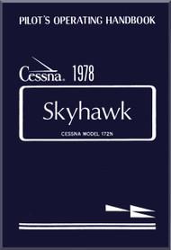 Cessna  172 N Series Aircraft Pilot's Operating Handbook  Manual 1978