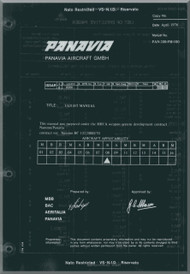 Panavia Tornado Aircraft Flight Manual Manufactures Development Flight Manual for MRCA  applicability 08 ( Two seater ) PAN-200-FM100 - 519 pages April 1976