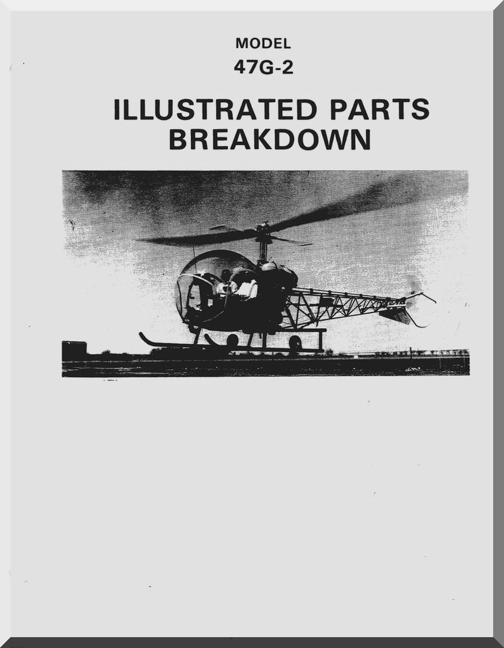 Bell Helicopter 47 G 2 Illustrated Parts Catalog Manual 1977 Diagram Image 1