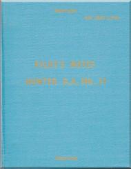 Hawker Hunter GA. Mk 11  Aircraft  Pilot's Notes Manual A.P. 4347L-P.N. - 1963