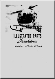Bell Helicopter 47 G-4 47 G-4A Illustrated Parts Catalog   Manual